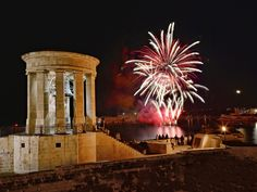 Malta Fireworks Festival - Picture of Valletta, Island of Malta - Tripadvisor Fireworks Festival, Malta Gozo, Malta Island, Marina Bay Sands, Trip Advisor, Photo And Video, Places, Pictures, Beautiful