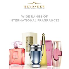 Shop from a range of our Best selling Perfumes at the lowest prices with #BeyonderPriceMatchPromise at http://beyonder.co/fragrances