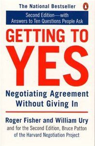 At MCC Library-Getting to yes : negotiating agreement without giving in / by Roger Fisher and William Ury, with Bruce Patton, editor. Great Books To Read, Good Books, This Book, Book Club Books, Book Lists, Win Or Lose, Conflict Resolution, Book Summaries, Learning To Be