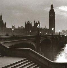 Bridge with Big Ben  by Anonymous