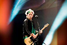 Keith Richards of The Rolling Stones  Clemens Mitscher Rock & Roll Fine Arts