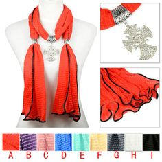 Aliexpress.com : Buy rhinestones Cross pendant scarf,9 colors available,NL 2099 from Reliable cross pendant scarf suppliers on Well Done Fashion Jewelry Co.,Ltd. $10.99