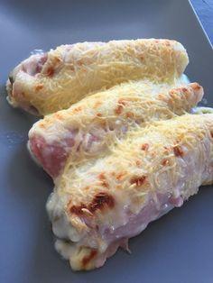 Endives au jambon gratinées légères, voici une recette de saison que tout le monde connait, mais version légère .