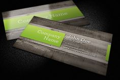 Check out Wood Background Business Card by Design Panoply on Creative Market