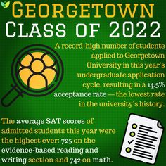 IvyWise On Instagram Check Out Our Blog For More CollegeAdmissions Stats AspireApplyAchieve HigherEd CollegePrep Georgetown UniversityCollege