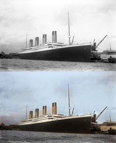 Titanic in Color: Mesmerizing Colorized Photos of The Ship of Dreams