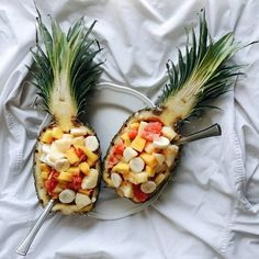 Filled Pinapple