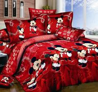 Red Mickey Mouse Kids Bedding
