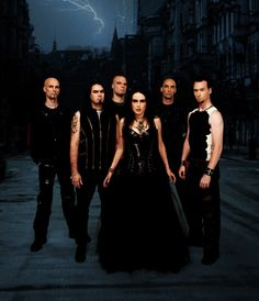 Within Temptation.  a Harry Potter fanvid turned me onto this band and i discovered European symphonic metal.  never going back :P