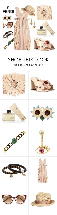 """""""Lovely Maxi"""" by ellenfischerbeauty ❤ liked on Polyvore featuring Fendi"""