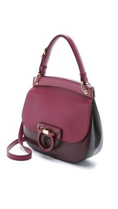 Salvatore Ferragamo Hermada Small Shoulder Bag