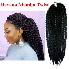 Havana mambo twist, soft havana synthetic havana mambo braids, 2s havana jumbo braids, crochet twist braid hair - Stylish n Trendier - 4