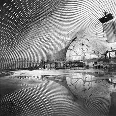 Carlfried Mutschler & Frei Otto... Roof for the Mannheim Multihalle...1970-75