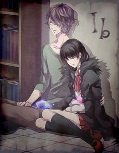 Ib and Garry<3