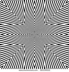 Optical Illusion Background Vector Illustration