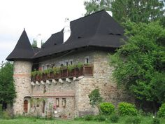 Moldovita Monastery Place Of Worship, Fresco, Tourism, Blessed, Objects, World, House Styles, Places, Romania
