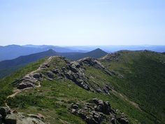 "Appalachian Trail (""AT"") - Franconia Ridge - Franconia Range, New Hampshire - Wikipedia, the free encyclopedia Day Trip To Nyc, Day Trips, Appalachian Trail, Hiking Spots, Hiking Trails, Franconia Ridge, Franconia Notch, Walk In The Woods, Blue Ridge Mountains"