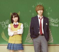 "Kento Yamazaki, J live-action movie from manga ""Ookami shoujo to kuro ouji (Wolf girl n black prince)"".2016"