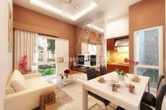 Interior Design At Home with an area of 50 sqm. http://arsitekinterior.com