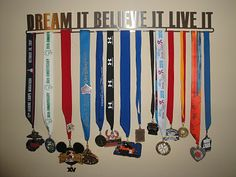 running medal hangers   Allied Running Medal Hanger review and giveaway! - Wellsphere