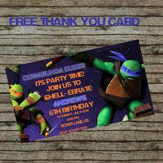 Teenage Mutant Ninja Turtle Birthday by CreationsbyCarolRene
