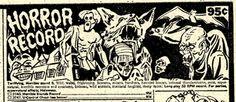 """Scar Stuff: Johnson Smith Novelty Company """"Horror Record"""" (Johnson Smith Co, 32071, 1973)"""