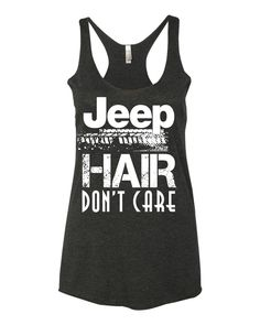 JEEP HAIR Don't Care! TANK