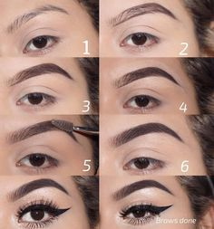 Make Up; Look; Make Up Looks; Make Up Augen; Make Up Prom;Make Up Face; Eyebrow Makeup Tips, Eye Makeup Steps, Eyebrow Brush, Eyebrow Pencil, Eyeshadow Makeup, Lip Makeup, Makeup Tricks, Makeup Dupes, Beauty Tricks
