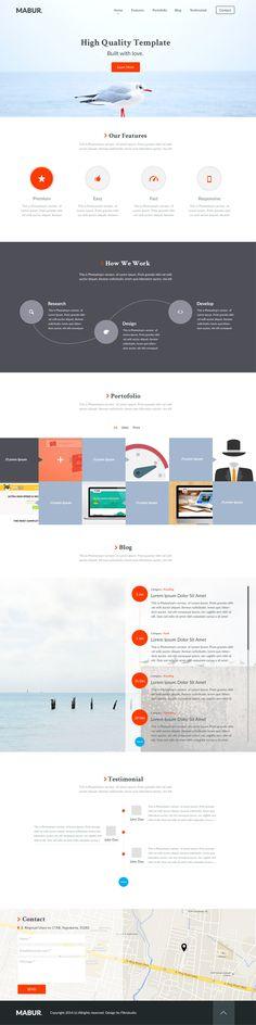 Business portfolio Web UI