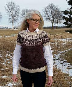 Ravelry: Star Yoke Pullover pattern by Jennifer Donze