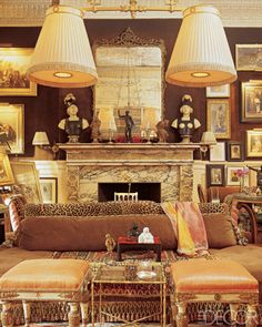 Mysterious, interesting and beautiful. Eclectic Living Room, Living Room Decor, Living Spaces, Living Rooms, Elegant Home Decor, Elegant Homes, Elegant Chic, Interior Decorating, Interior Design