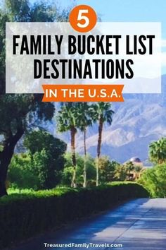 Deciding where to take your family on vacation? Click here to read 5 best family vacation spots in the US. Whether you are traveling with toddlers or with teens, this list has you covered. Check out these awesome destinations in the United States before your next trip. #familytravel #travelwithkids #familyvacations #travelintheUS #vacationideas #USATravel