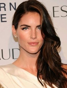 Hilary Rhoda hair + brows