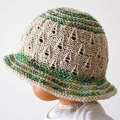 Knitting Pattern PDF file Summer Meadow Baby by loasidellamaglia