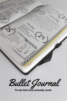 Great Bullet Journal inspiration.