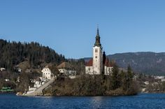 Church of the isle of Bled