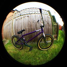 This picture of my BMX was taken with my fisheye lens and a high aperture to ensure most of the bike was in focus - By Jay Bangham