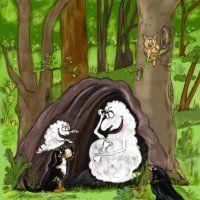 lustige Hundegeschichten- Vorlesebuch für Kinder, Wölckchen Zauberknochen