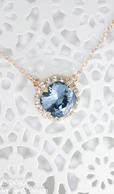 Bridal & Wedding Party Jewelry New Wedding Necklace Set Using Swarovski White Pearl & Lite Blue 1 Strand #3 Jewelry & Watches