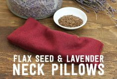 DIY Flax Seed and Lavender Neck Pillows | Frontier Natural Products Co-op
