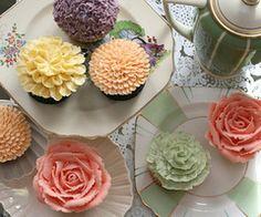 Cupcakes para el te mas lindooos