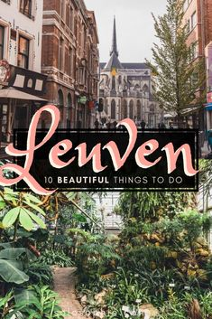 Looking for the very best things to do in Leuven, the most underrated city in Belgium? Here's your complete guide on where to stay, what to see, and the best of Leuven #leuven #belgium