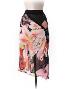 Check it out—Roberto Cavalli Silk Skirt for $60.99 at thredUP!