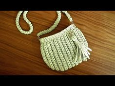 Bolsa De Fio de Malha - Passo a Passo - Tutorial de Crochê - Modelo Clutch - T Shirt Yarn Bag - YouTube