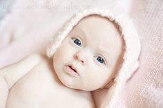 How to edit newborn pictures with Baby Clean Photoshop action.   Everyday Elements
