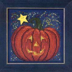 Midnight Pumpkin - Beaded Cross Stitch Kit MH143206 - But... https://smile.amazon.com/dp/B00CE0OSH0/ref=cm_sw_r_pi_dp_x_BvlHyb6A381RB