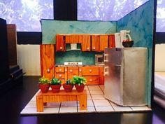kitchen model made by Shivani Jadhav