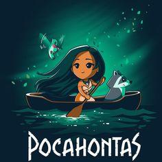 Disney Pocahontas T-Shirt Disney TeeTurtle