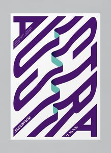 Felix Pfäffli is a Graphic Designer / Illustrator based in Switzerland. After graduating in 2012 Felix founded his design studio Feixen, specializing in contemporary typography and colourful poster design. Type Posters, Graphic Design Posters, Graphic Design Typography, Graphic Design Illustration, Graphic Design Inspiration, Daily Inspiration, Book Design, Layout Design, Web Design
