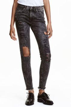 Skinny Ankle Trashed Jeans | H&M